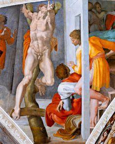 Michel Ange, Chapelle Sixtine, Rome