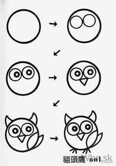 Naučte vaše deti kresliť zvieratká jednoduchými tvarmi - Webnoviny.sk