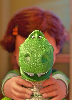 I am Rex, hear me roar ….