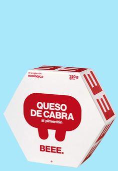 Beee yogurt packaging from Spain.