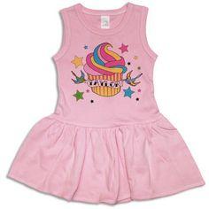 Psychobaby Personalized Dresses - Tattoo Cupcake Tank Dress