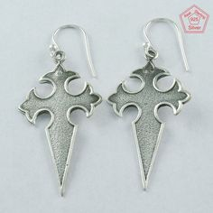 Christmas Bonanza 925 Sterling Silver Sword Earrings E4080 #SilvexImagesIndiaPvtLtd #DropDangle