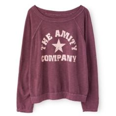 Camiseta Berkeley púrpura The Amity Company