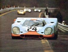 1000 Km Spa Francorchamps 1970  Porsche 917K Nª24 Siffert and Redman