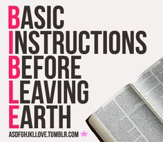 """""""The Bible was not given to increase our knowledge BUT TO CHANGE OUR LIVES."""" ~ D.L. Moody"""