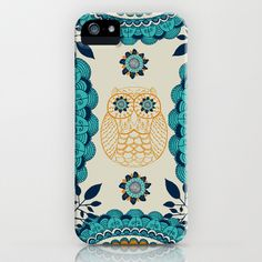 BOHO Owl iPhone & iPod Case by rskinner1122 - $35.00