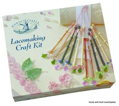 House of Crafts Lacemaking Craft Kit An ideal introduction to this fascinating craft This kit contains everything needed to create a selection of