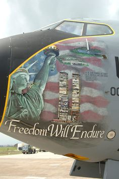 Freedom Will Endure - Tribute Nose Art--from the war in Afghanistan and Iraq