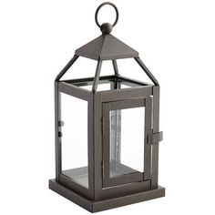 You're about to make a tealight very happy. While Landen's classic style may be handcrafted of rust-resistant iron, it still brings a light and airy feel to your patio, family room or bedroom. Oh, if candles could only smile.