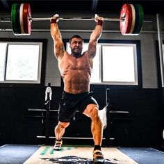 Klokov - Split Jerks done by a mountain of a man! #olympicweightlifting