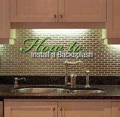Free resource guide: Discover how to install a kitchen backsplash.