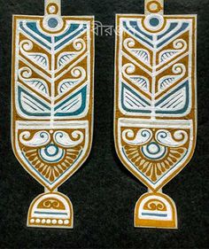 Know about this beautiful traditional art form of Bengal, India that has been practiced by housewives for years. Bengali Art, Rajasthani Art, Madhubani Art, Madhubani Painting, Alpona Design, Indian Folk Art, Indian Art Paintings, India Art, Art N Craft