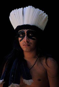 Handsome Amazonian man