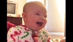 The Sound of This Baby's Laugh Will Melt Away Whatever Stress You Have