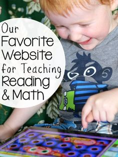 Our favorite website for teaching reading and math is Reading Eggs and Math Seeds!
