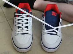 f5c2702daa2c COOL How To CHAIN LACE Shoes with NO BOW