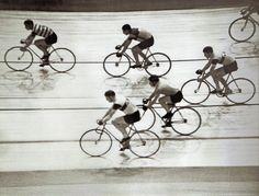 Berlin, Fahrradrennen Deutschlandhalle 1936