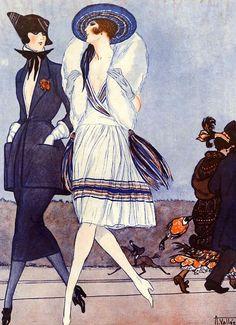 Illustration by Armand Vallee For La Vie Parisienne 1921
