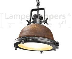 Hanglamp Thor Mango Wood 43cm