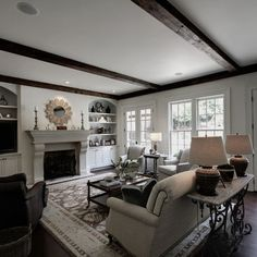 Family Layout Room Interior Design | Family Room Family Room Layout Design Ideas, Pictures, Remodel, and ...