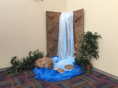 Waterfall for vbs 2015 Journey Off the Map