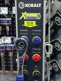 Kobalt Wrench Color Coded Tool Try Me