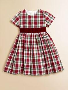Baby CZ - Toddler's & Little Girl's Plaid Felicity Dress - Saks.com