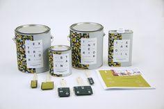 Aleksander Nielsen Paint Collection on Packaging Design Served