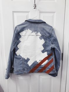 painted denim jacket ep. 1 back