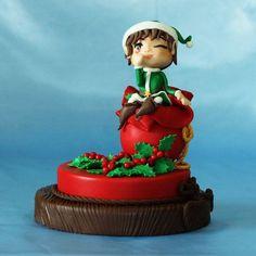 Christmas elf Cake by ledeliziedikicca