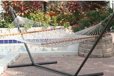 Two Person Rope Polyester Tree Hammock