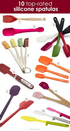 Flexible, heat-resistant, and multi-functional, a good spatula is an indispensable kitchen tool. Here are ten top consumer-rated spatulas to help you mix it up in the kitchen: http://www.recipe.com/blogs/cooking/pick-a-spatula-top-rated-tools-for-mixing/?socsrc=recpin021114toptenspatulas