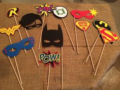 ? ?19 ideas originales de manualidades para una fiesta de superheroes ?TOP 2019? - Uma Manualidades