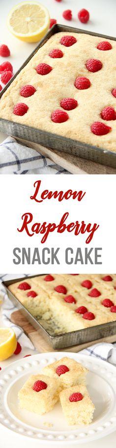 Lemon Raspberry Snac