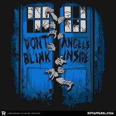 A very cool Doctor Who and The Walking Dead mash-up t-shirt or hoodie design available for only 24 hours at Ript Apparel. https://www.riptapparel.com/