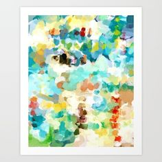 abstract painting, abstract art, rainbow art, rainbow painting...