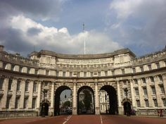 The stunning Admiralty Arch Photo by Brick Lane Art