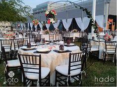 Centro de Mesa. Wedding Centerpice