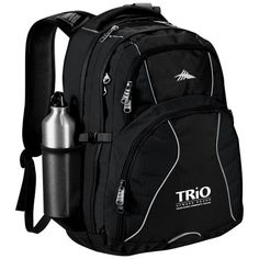 High Sierra® Swerve 17″ Computer Backpack – Grand Rapids Community College #TRIOworks