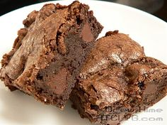 How To Make Perfect Brownies recipe | Chefthisup