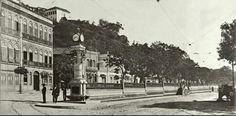 Relógio da Glória, Largo da Glória RJ 1910