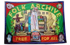 #Jeremy Deller  Alan Kane Folk Archive, a collection of popular, contemporary British culture. #Exhibition - Ordinary/Extra/Ordinary @_the_public until 29th September 2013