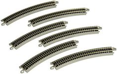 Hobby Train Sets - Bachmann 1125 Radius Curved Track 6Card  N Scale ** You can get more details by clicking on the image.