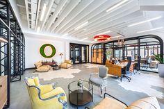 Opera Software Unveils New Open-Concept Office Space Interior Design Software, Office Interior Design, Office Interiors, Corporate Interiors, Office Designs, Open Concept Office, Opera Software, Navigateur Web, Design Furniture