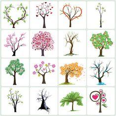 Vectores de árboles de otoño para descargar gratis - recursos WEB & SEO