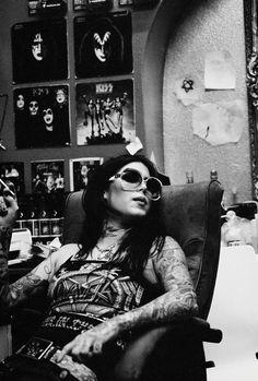 pinterest.com/fra411 #inked #girl - Kat VonD La madame tatouée du jour