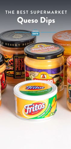 Taste Test: The Best Supermarket Queso Dips Tostitos Dip, Smoked Jalapeno, Game Day Snacks, Serious Eats, Big Party, Quesadillas, Healthy Snacks, Dips, Sauces