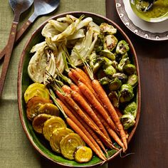 Roasted Vegetable Antipasto Recipe - Excellent easy side dish.  Recommends serving 6, but served 4 with no leftovers.  Made for Christmas 2012