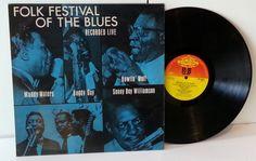 VARIOUS ARTISTS folk festival of the blues recorded live - JAZZ, BLUES, Jazz-rock-prog, nearly jazz and nearly blues!
