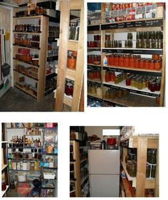 I Wish I Had A Pantry Full Of Home Canned Stuff.... Someday